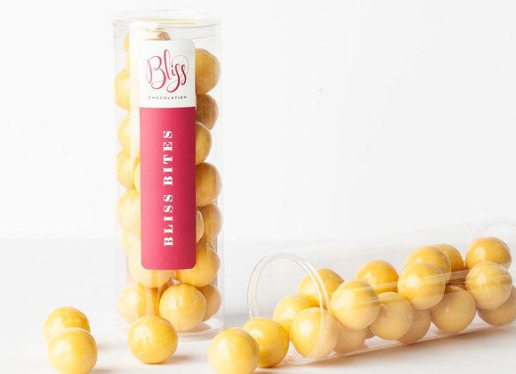 Passionfruit Cheesecake Malt Balls