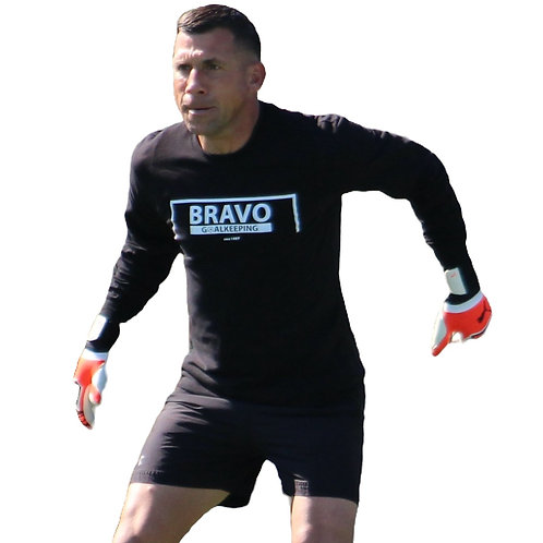 Bravo Long Sleeve Black T-Shirt