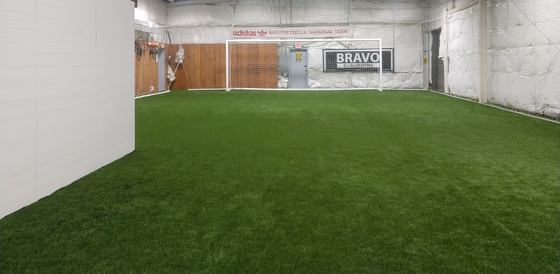 A goalkeeper specific facility