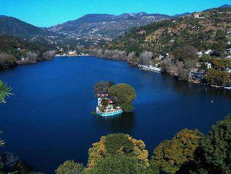 about bhimtal lake
