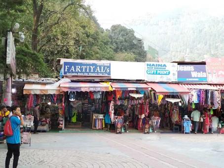 Bhotia Market (Tibet Market) Nainital