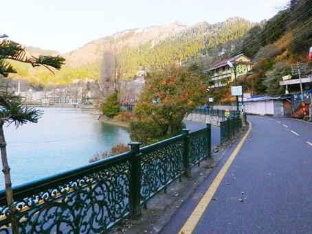 The Mall Road Nainital