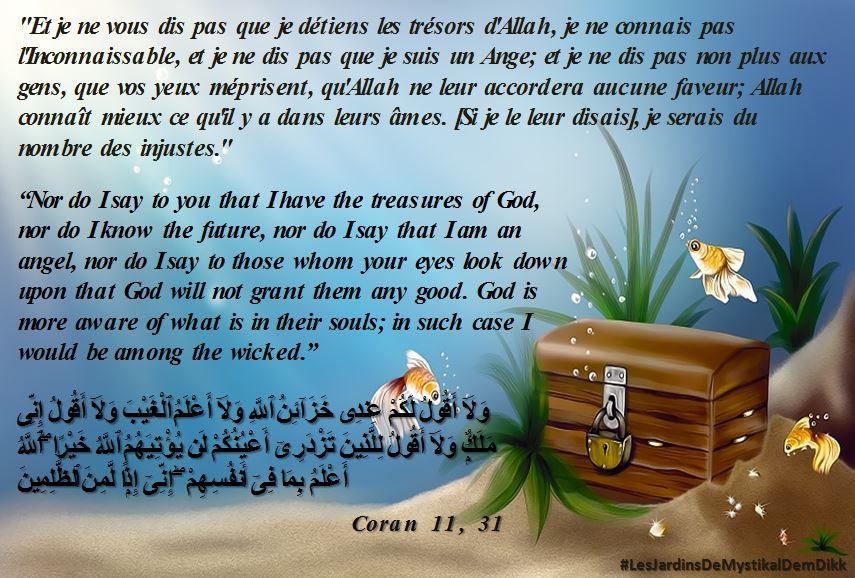 Coran 11, 31