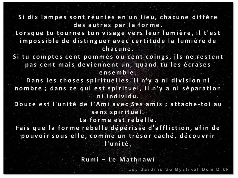 Rumi, Le Mathnawi