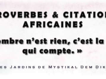 [Proverbe africain] : Nombre et valeur x Mystikal Dem Dikk