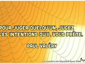 Paul Valéry : Sur le jugement sur autrui