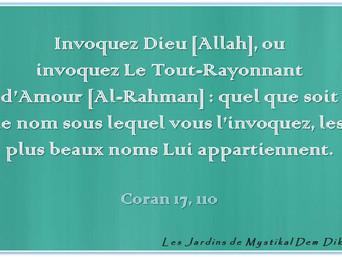 Abd el-Hafîd Benchouk : Invoquez Dieu [Allah], ou invoquez Le Tout-Rayonnant d'Amour [Al-Rahman], Co