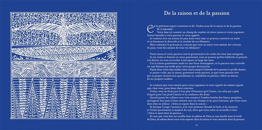 Le Prophète, De la raison et de la passion -Khalil GIBRAN | Rachid KORAÏCHI