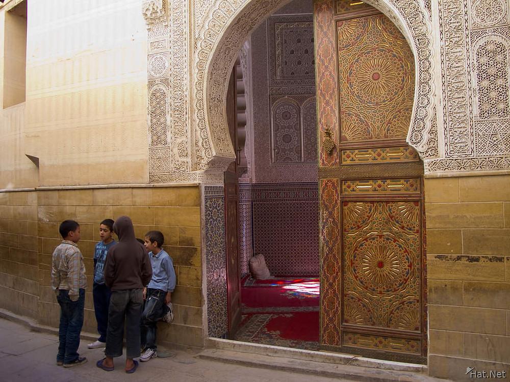 Mosquée de sidi Ahmed Tidjani