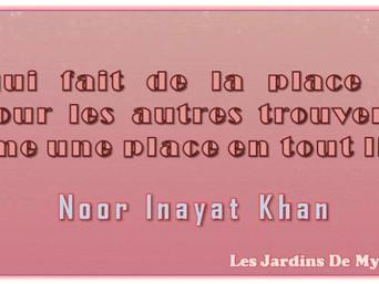 Noor Inayat Khan : Celui qui fait de la place en son cœur pour les autres..