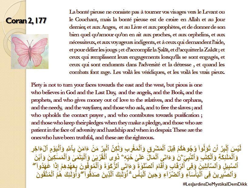 Le verset du jour