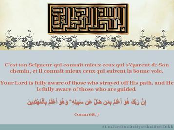 [Le verset du jour] Coran 68, 7 : C'est ton Seigneur qui connaît mieux ceux qui s'égarent..