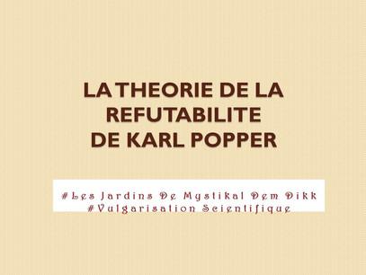 Comment délimiter ce qui est scientifique de ce qui ne l'est pas : La réfutabilité de Karl Poppe