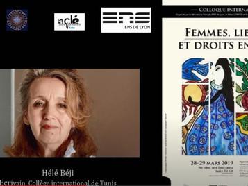 "[Vidéo] Tradition et liberté, colloque ""Femmes, libertés & droits en islam"", ENS Lyon, 28/03/2019"