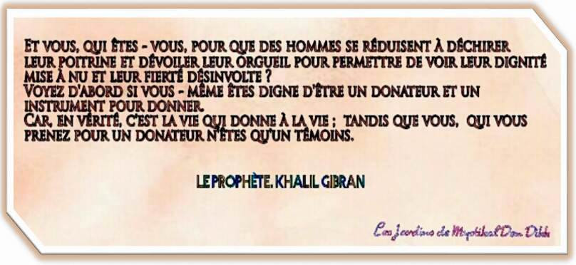 Khalil Gibran, Le Prophète