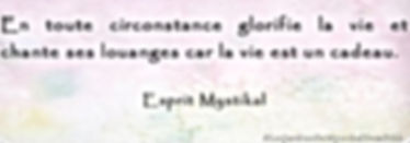 Citation d'Esprit Mytikal