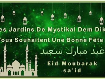 [2018 - 1439] Eidkoum Moubarak - Bonne fête à vous