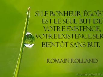 Romain Rolland : Du bonheur et de l'altruisme