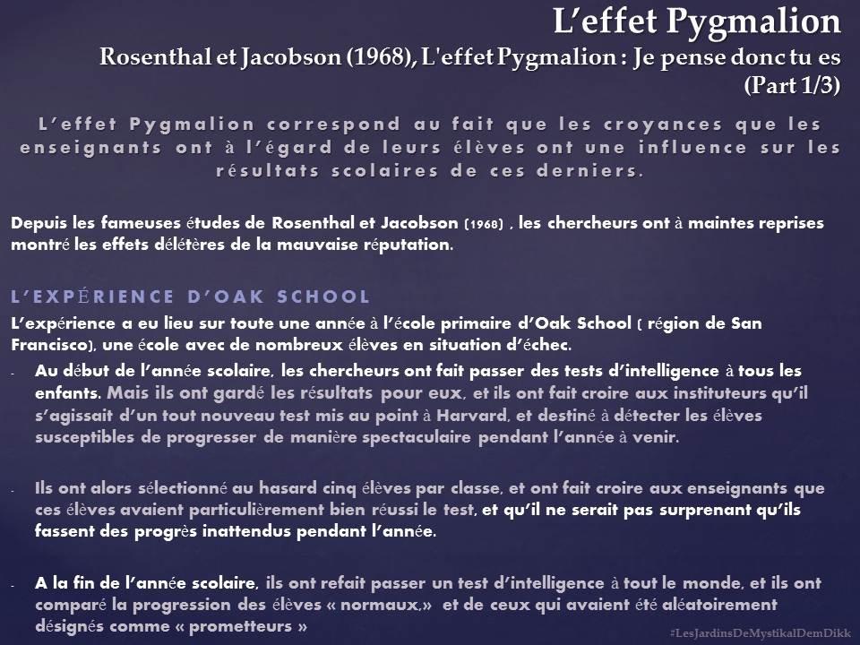 Effet Pygmalion 2