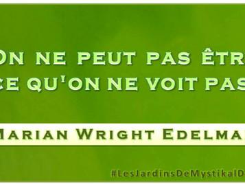 Marian Wright Edelman : On ne peut pas être ce qu'on ne voit pas