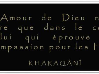 Kharaqânî : Sur l'Amour de Dieu