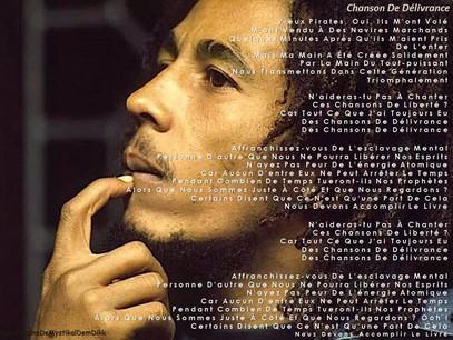 Chanson de délivrance - Redemption Song - Bob Marley
