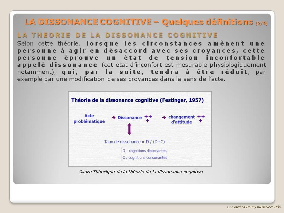 Dissonnance Cognitive 2