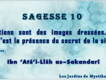 Ibn 'Atâ'i-Llâh as–Sakandarî : Actions et sincérité