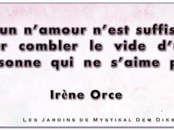 Irène Orce : Sur l'amour de soi x Mystikal Dem Dikk