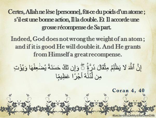 Coran 4,40