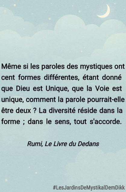Rumi la diversité