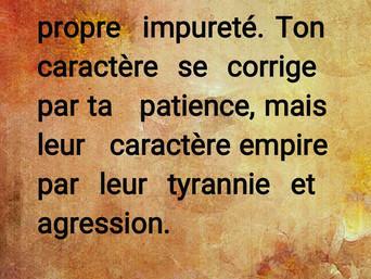 Rumi : Supporter la tyrannie des autres ..