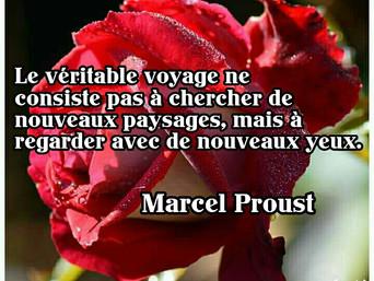 Marcel Proust : Sur le véritable voyage