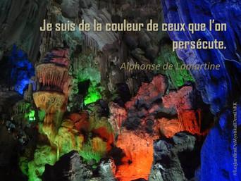 Alphonse DE LAMARTINE : Je suis de la couleur de ceux que l'on persécute