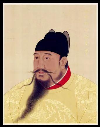 Portrait de cour de l'empereur Ming Yongle