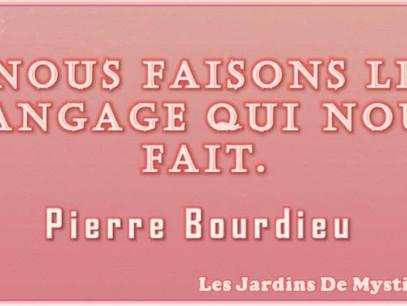 Pierre Bourdieu : Sur le langage