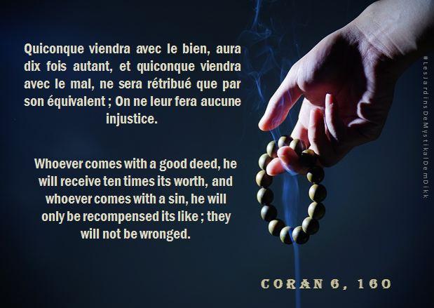 Coran 6, 160