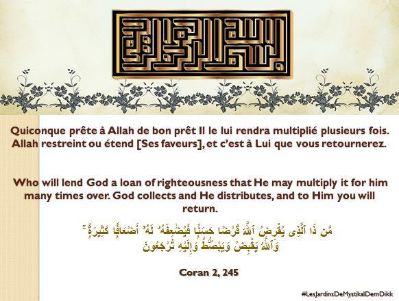 Coran 2, 245