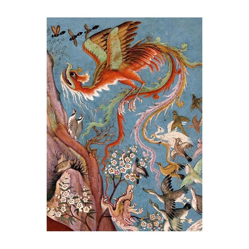 Couverture livre de 'Attar - Le Cantique des Oiseaux
