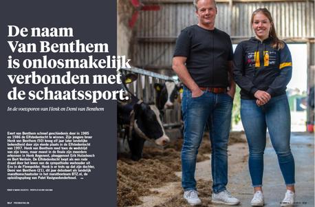 In proskating: Henk en Demi van Benthem