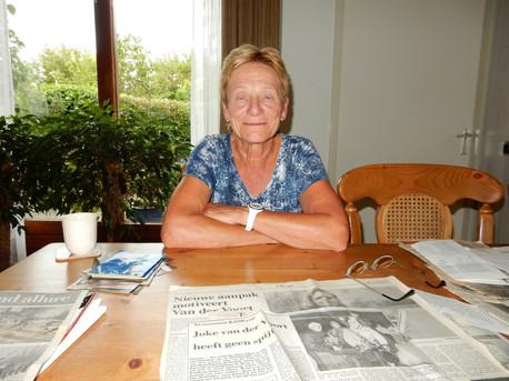 Oud-marathonschaatsster Joke van der Voort van Gaalen overleden