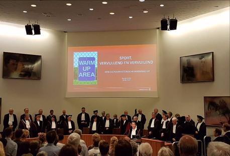 Eerste professor sportgeschiedenis in Nederland: Marjet Derks!
