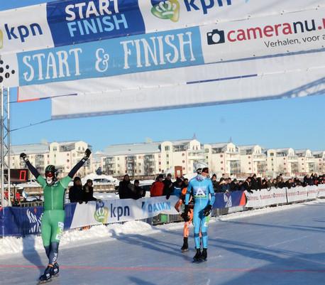 Hekman en Schouten winnen eerste Grand Prix wedstrijd in Lulea