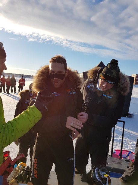 Grandprix Luleå: 'Het echte marathonwerk'