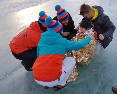 Het gevecht tegen de pijn, het ijs en de afstand!