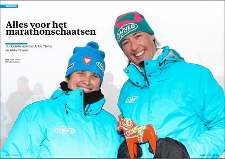 Dubbelinterview Ankie Ytsma en Alida Pasveer in Proskating