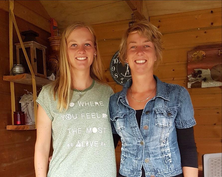 Gerline en Janita Willems-Crediet