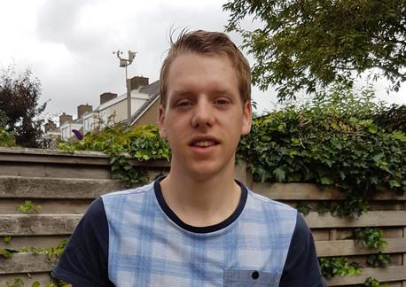 Niels Overvoorde: Als anderen stuk zitten, door kunnen gaan….