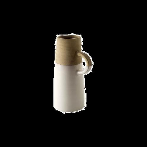 Arabella White Vase