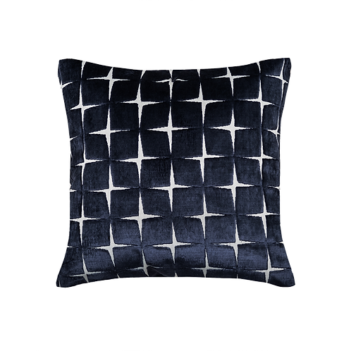 Olivia Navy Pillow Cover